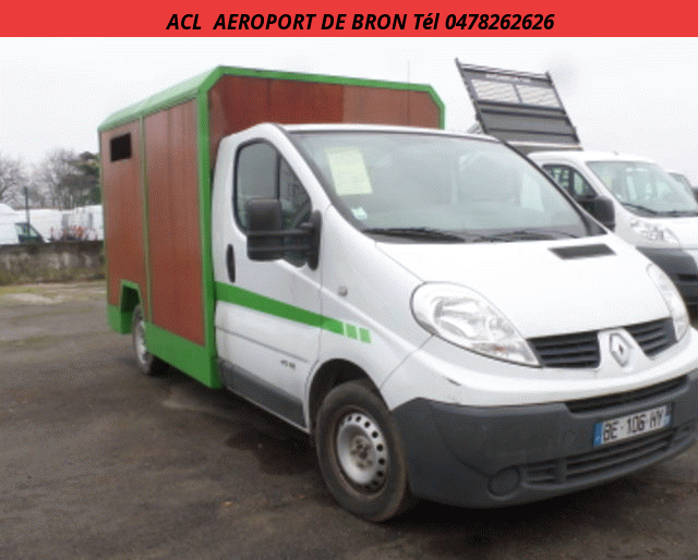 Renault BETAILLERE/MOUTONNIERE TRAFIC  2.0 DCI 115