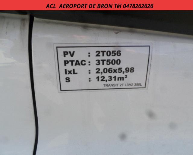 Ford TRANSIT L3 H2 3T5 2.2 TDCI 125