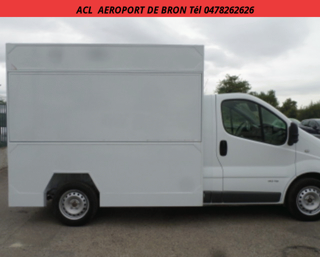 Renault FOOD TRUCKS MAGASIN TRAFIC 2.0 DCI 115