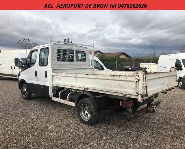 Iveco 35 C 15 CHASSIS DOUBLE CABINE  3.0 L 150 CH BENNE