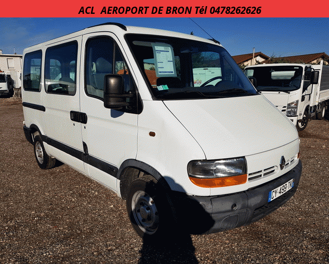 Renault MASTER L1 H1 9 PLACES EXPORT 2.8 TDI 120