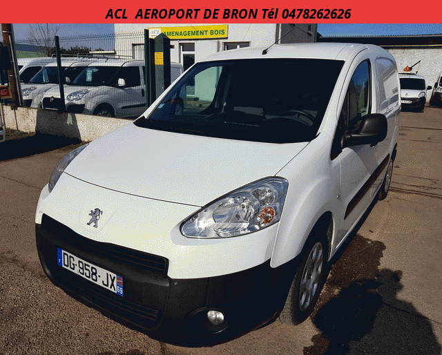 Peugeot PARTNER L1 CD CLIM PLUS 1.6 HDI 75