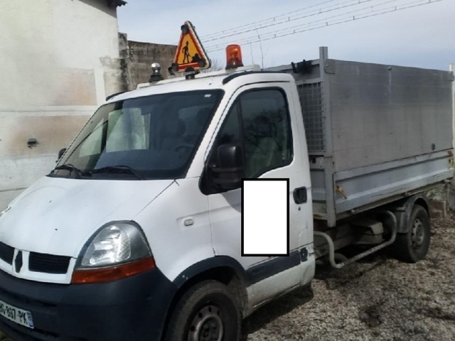 Renault MASTER CHASSIS BENNE 2.2 DCI 90