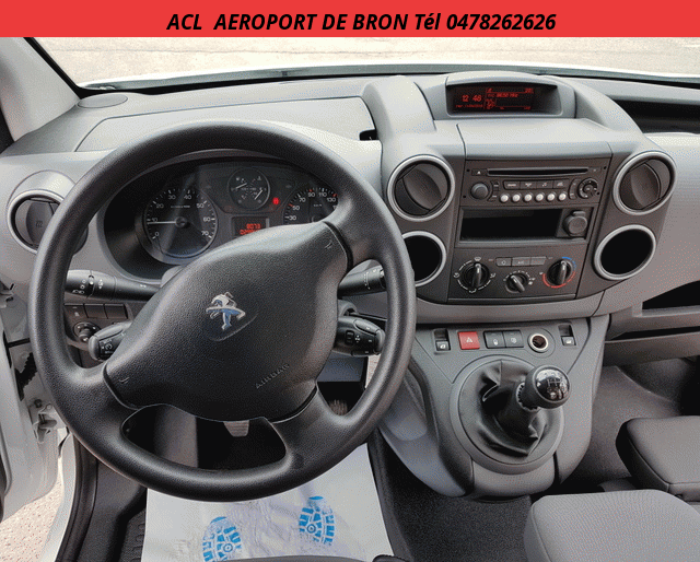 Peugeot PARTNER L1 1.6 HDI 90 CLIM+PACK+CD