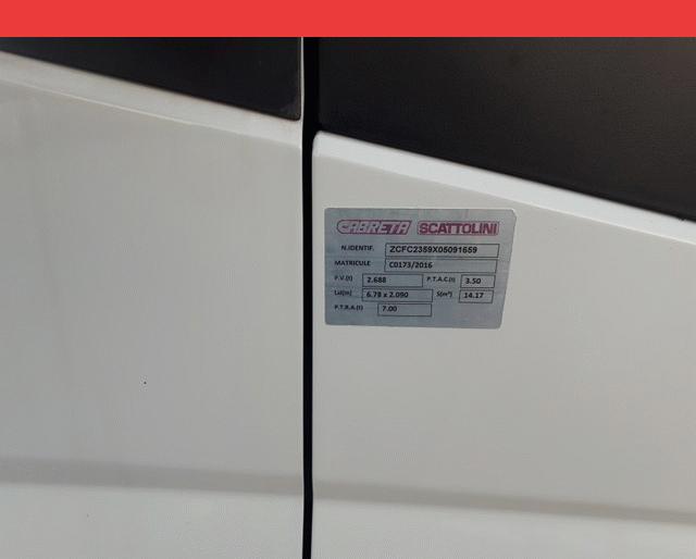 Iveco 35C13 BENNE + COFFRE 2.3 HPI 130