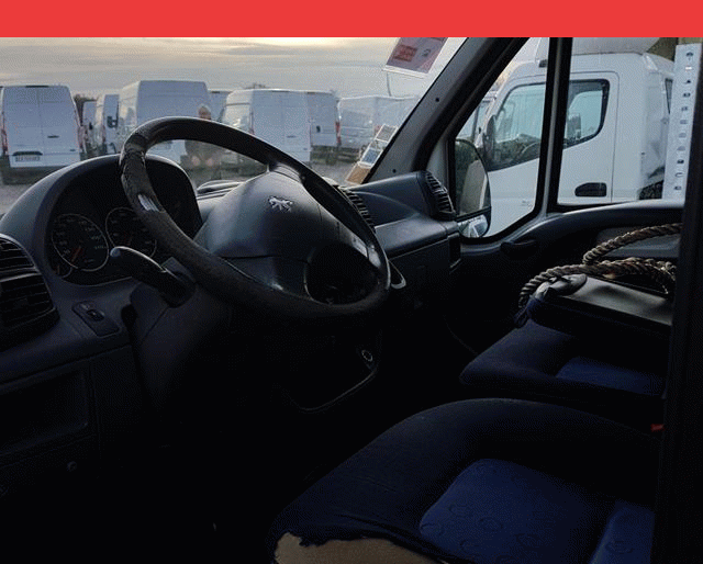 Peugeot CAISSE + HAYON BOXER 2.2 HDI 100