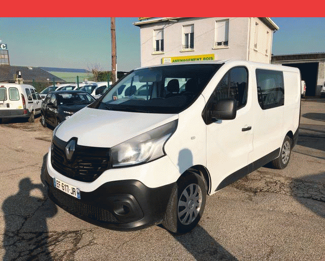 Renault TRAFIC L1 H1 GD CONFORT 6 PLACES DCI 90