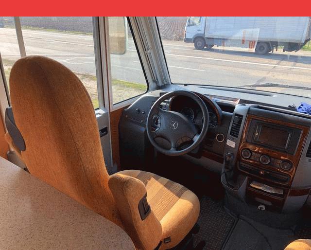Mercedes-Benz PILOTE EXPLORATEUR D703DG V6 CDI 184
