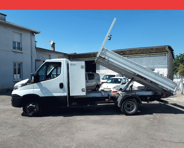 Iveco Iveco Daily Ccb BENNE + COFFRE 35 C 14