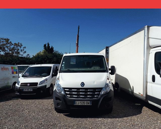 Renault Renault Master PLATEAU + GRUE DOUBLE CAB 2.3 DCI