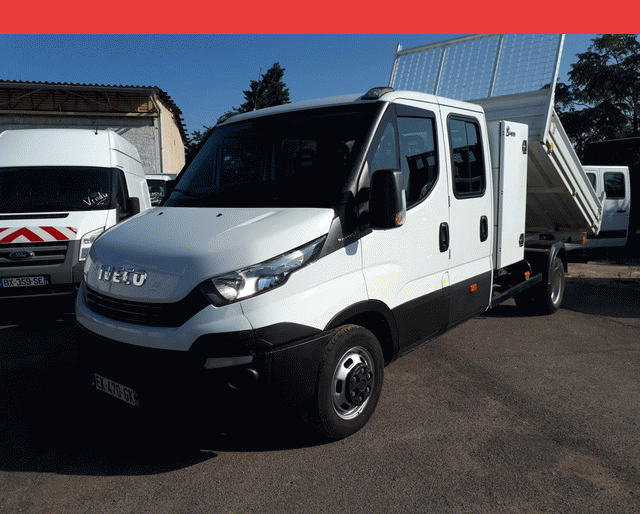 Iveco 35C14  BENNE + COFFRE 6 PLACES 35 C 14