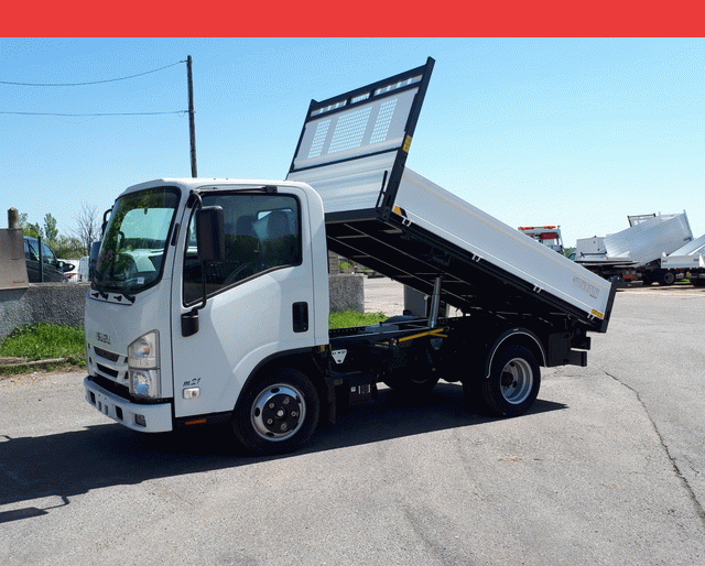 Isuzu ACL079 M21 Ground E MECA BENNE