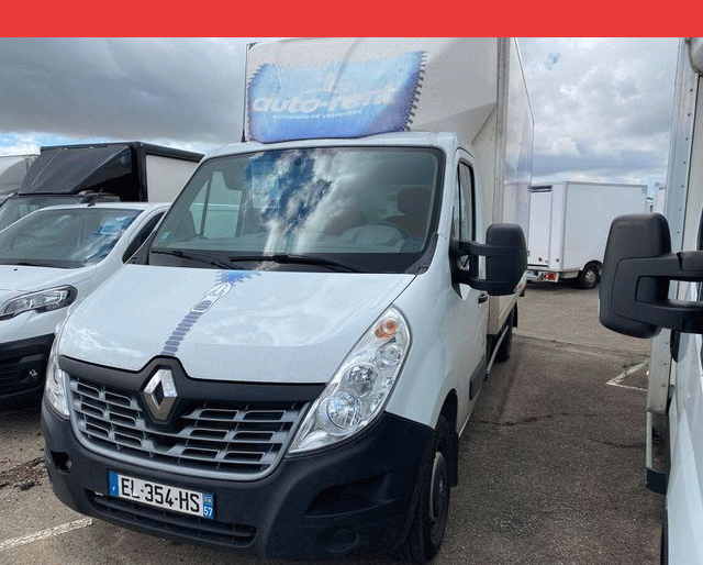 Renault Master CAISSE + HAYON 2.3 DCI 130 GRAND CONFORT